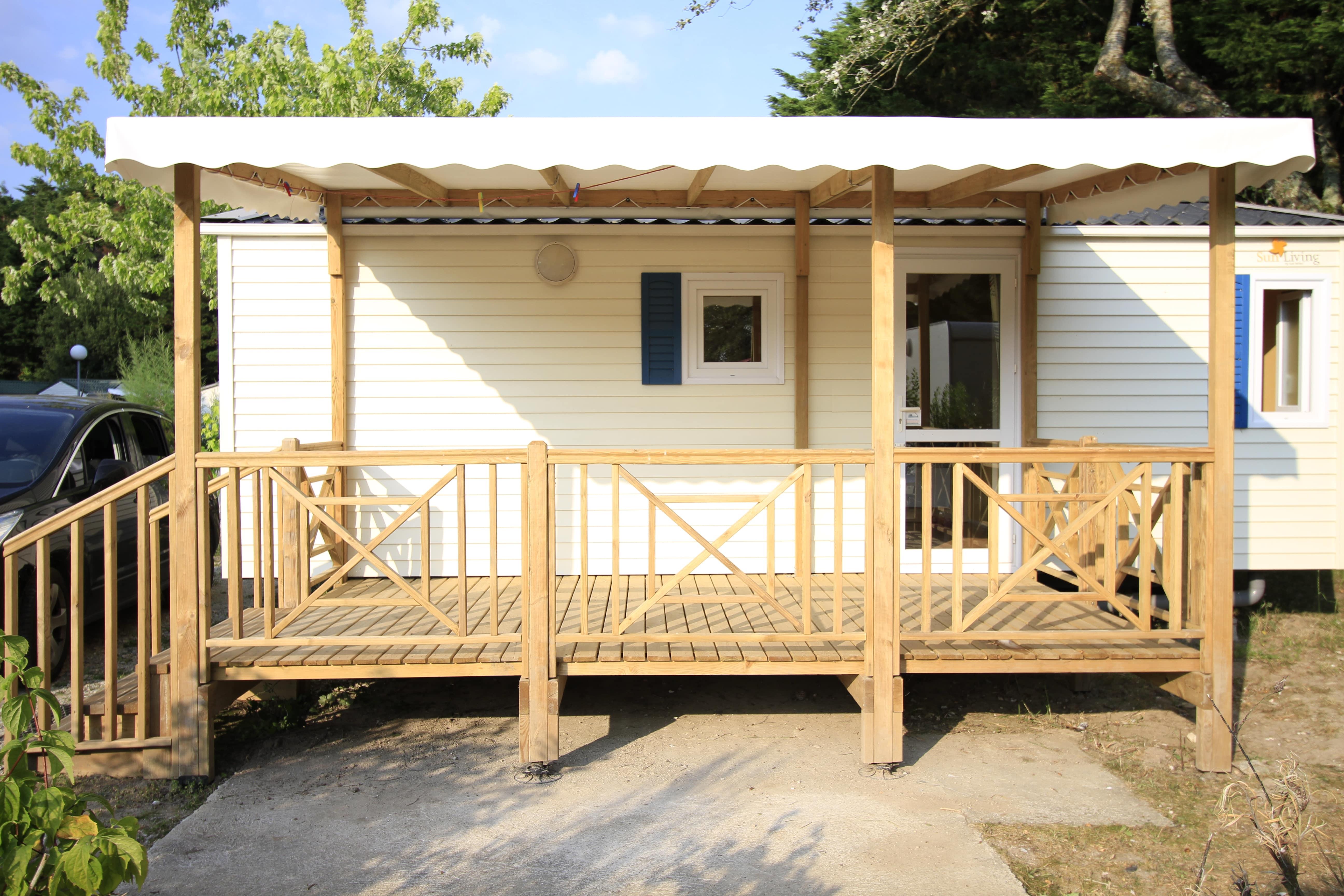 Nos Terrasses Couvertes Pour Mobil Home